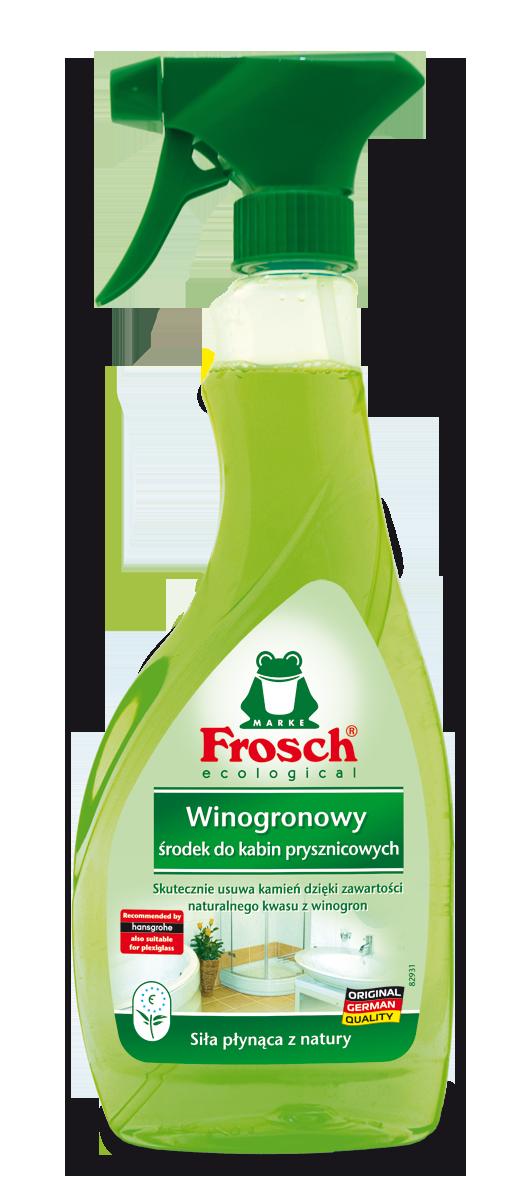 Spray Do Kabin Prysznicowych Frosch 500 Ml Winogronowy