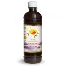 Joy Day OWOCE LASU Napój Probiotyczny Koncentrat BIO 500 ml Living Food